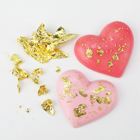 Edible Gold Leaf Cake Decorating : Edible Gold Leaf Pure 23 Karat Gold for by LayerCakeShop ...