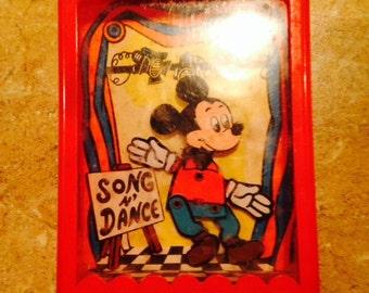 Vintage Mickey Mouse Disney Dancer