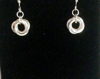 Eternity Earrings larger size