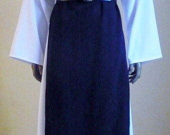 Made to Order Monk Habit with Tunic, Scapular, and Attached Hood