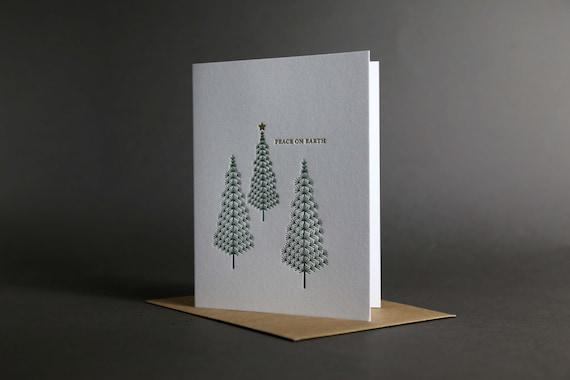 Pine Tree Peace on Earth