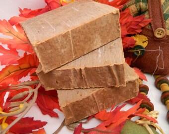 Perfect Pumpkin Goats Milk Soap