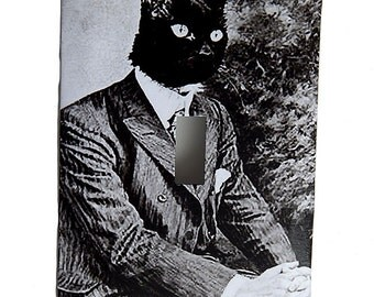 Cat in a Suit Switchplate