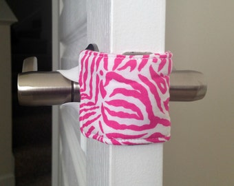 Pink Zebra Door Silencer