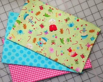 Christmas Holiday Bundle -  2 yards total