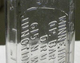Apothecary/Pharmacutical Bottle