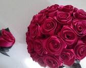 Made to order Keepsake Brides bouquet wedding bouquet silk bouquet silk bouquet/ Boutonniere
