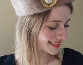 RESERVED FOR NINA 1940s-1950s Betmar Fur Hat