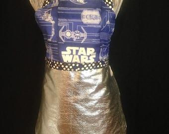 Star Wars Blue Print Apron