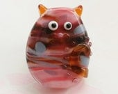Fiona Classic Kitty Cat Lampwork Glass Bead Focal by keiara SRA