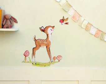 A Little Bird Told Me -- Wall Decal