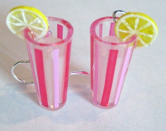 Food Jewelry - Lemonade Earrings