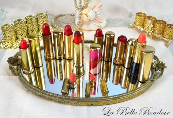 The Lipstick Lot Vintage 40s 50s Collectible Lipsticks