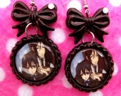 Black Butler Ciel Sebastian Anime Earrings
