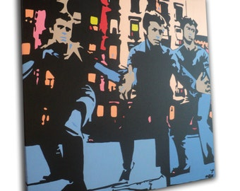West Side Story - XL Pop Art Canvas Painting