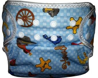 Western PUL  Waterproof Cloth Diaper Cover