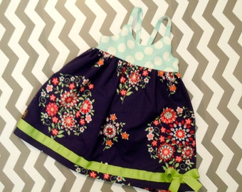 Girls Baby Hummingbird Dress 12-18M