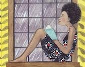 Girl Reading #2