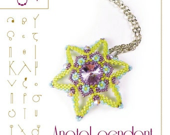 Pendant tutorial / pattern Anatol – PDF instruction for personal use only
