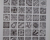 Coloring Page - Inchies - #4 - Instant Download