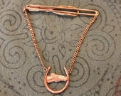 Vintage Swank  horse head tie bar