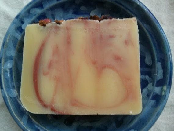 Lavender Rose Soap - Lavender Rose Geranium Soap - SLS free soap - Palm oil free soap - vegan soap