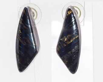 Navajo Earrings - Tiger Eye Jasper & Sterling - Posts - Best Buy