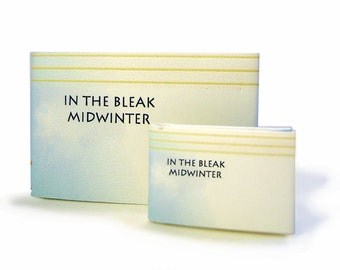In The Bleak Midwinter - Miniature Christmas Book