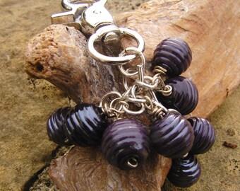 Key chain lampwork beads sra