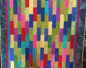 Enjoy your Labor Today 61x72 inch art quilt