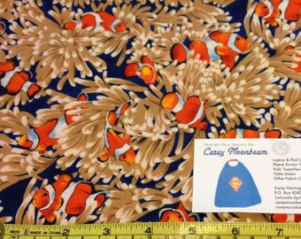 Michael Miller Clownfish Fabric - by the yard