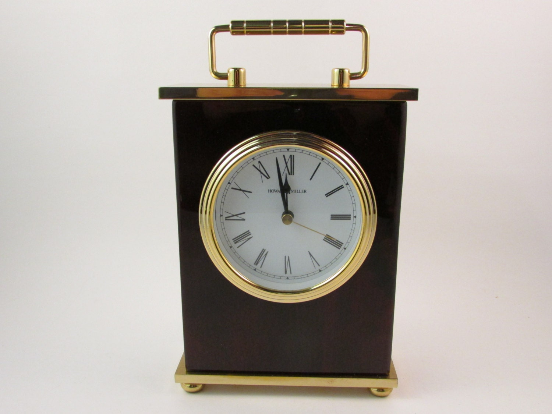 vintage howard miller clock mantel clock table clock model