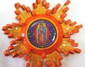 Lady of Guadalupe Recycled Aluminum Can Ornament