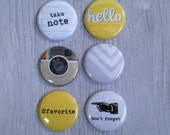 Very Merry Flair Badges : Take Note / Insta Set