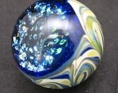 Dot Dichroic Glass Marble