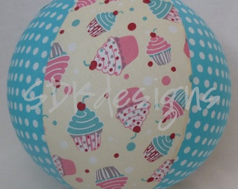 Balloon Ball -Sweet Cupcakes and Polka Dots - Great Party Favor, Decor, or Toy - As seen with Michelle Obama on Parenting.com