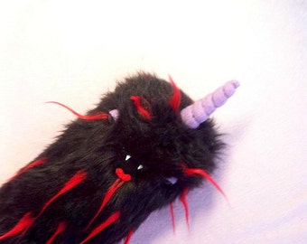 Furry Plush Stuffed Toy - Weird Monster Kawaii Unicorn