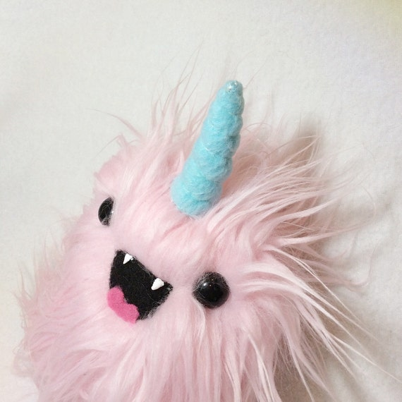 Weird Unicorn Plush - Kawaii Monster Toy