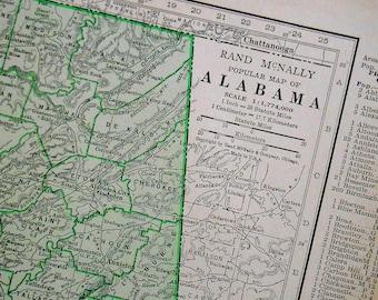Alabama Map Etsy - Alabamamap