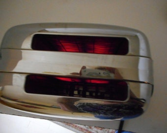 1950s General Electric Toaster Vintage Toaster 92T82 Chrome Mid Century Retro