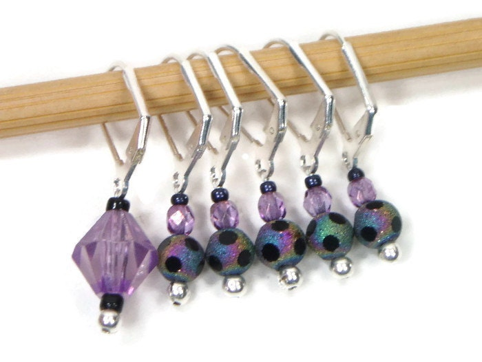 Locking Removable Stitch Markers Crochet Row Markers Knitting