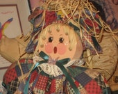 Handmade Shelf Doll