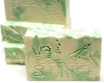 Eucalyptus Spearmint Handmade Soap