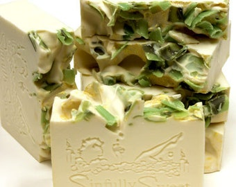 Green Tweed Handmade Soap