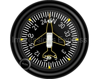Direction Heading Indicator Aviation Single Toggle Switch Plate Cover