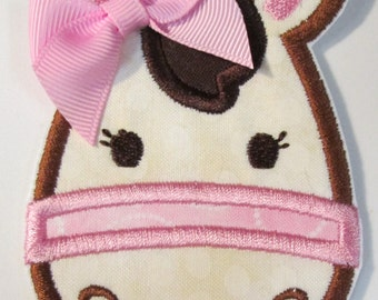 Iron On Applique - Cute Girly Horse