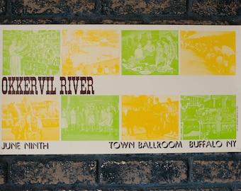 Okkervil River Letterpress Gig Poster