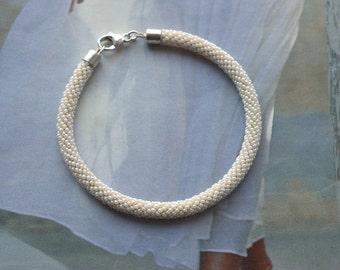 wedding bracelet beaded unique bridal accessory