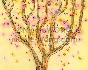 4x6 Print -- The wishing tree