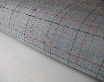 VINTAGE GRAY POLYESTER knit fabric, measures 60 inches by 8 yards